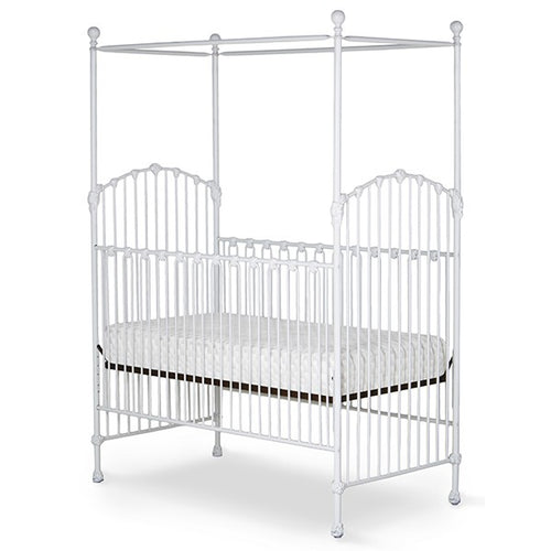 Corsican  43740 Stationary Canopy Crib - Ensley Fairfield Mattress Co.