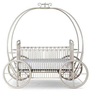 Corsican  43812 Stationary Pumpkin Canopy Crib - Ensley Fairfield Mattress Co.