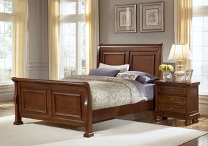 Reflections Sleigh Bed - Vaughan Bassett