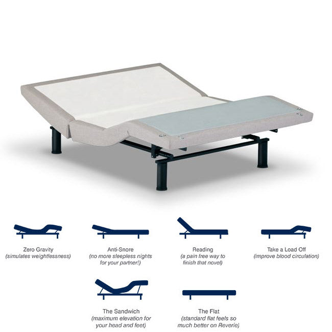 5D Signature Curve Reverie Adjustable Base Current Model - Ensley Fairfield Mattress Co.
