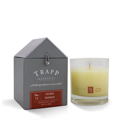 No. 12 Guava Mango Trapp Candle - Ensley Fairfield Mattress Co.