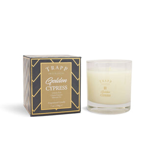 Golden Cypress Poured Candle - Ensley Fairfield Mattress Co.
