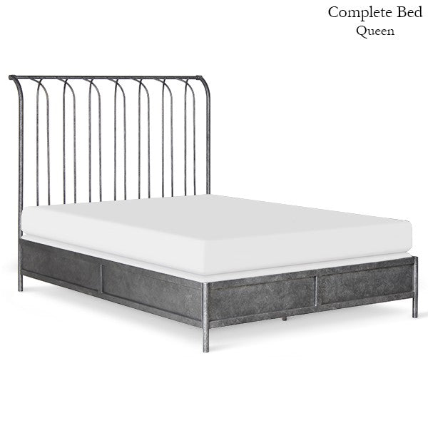 Standard Sleigh Bed 6784 - Ensley Fairfield Mattress Co.