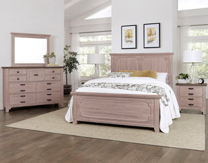 "LMCo. Bungalow Collection ""Panel Bed"""