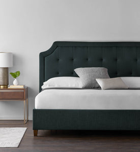 Eastman Platform Bed Base by Malouf - Ensley Fairfield Mattress Co.