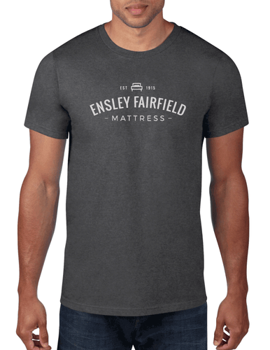 Ensley Fairfield Mattress Co. Gray Logo Shirt - Ensley Fairfield Mattress Co.
