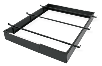 Hotel Bed Base Black - 7.5in