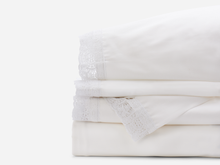 Madeline Gray Lace Sheets Set - Ensley Fairfield Mattress Co.