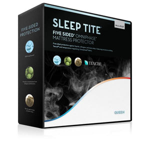 Five 5ided® Mattress Protector with Tencel™ + Omniphase® - Ensley Fairfield Mattress Co.