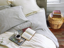 Lawrence Ticking Stripe Pillowcase Set - Ensley Fairfield Mattress Co.