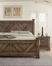 Cool Rustic - X Bed - Ensley Fairfield Mattress Co.