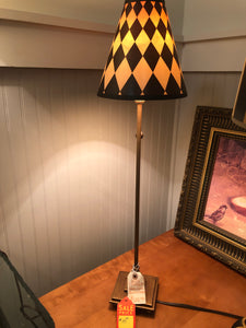 Checkered Buffet Lamp T9996C - Ensley Fairfield Mattress Co.