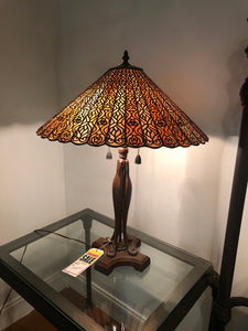 Quoizel Scroll Work Lamp - Ensley Fairfield Mattress Co.