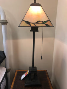 Quoizel Mother of Pearl Table Lamp - Ensley Fairfield Mattress Co.