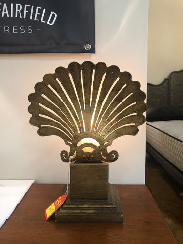 Sea Shell Hallway Accent Lamp - Ensley Fairfield Mattress Co.