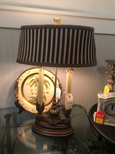 Double Candlestick Lamp - Ensley Fairfield Mattress Co.