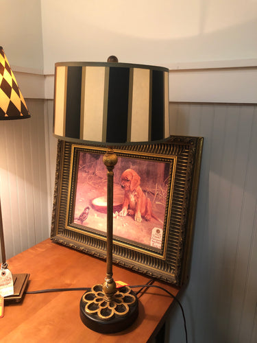 Black and Ivory Table Lamp - Ensley Fairfield Mattress Co.