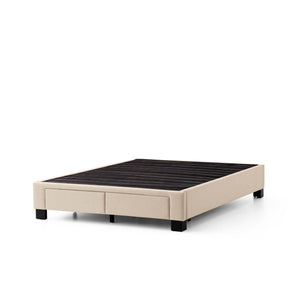 DUNCAN PLATFORM BED BASE - 2 DRAWER