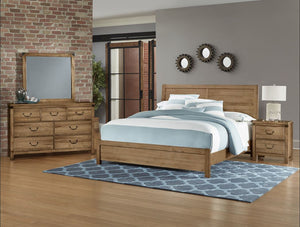 Sedgwick Plank Bed - Artisan & Post - Ensley Fairfield Mattress Co.