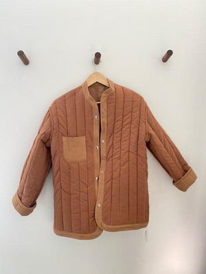 Sawyer Quilted Jacket Clay