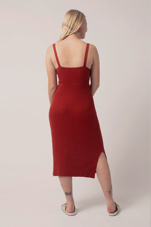 Caliente Dress Paprika