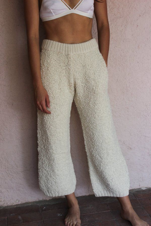 Textured Trouser Cream grid image