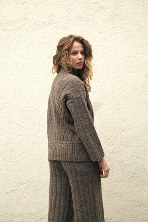 Tate Sweater French Grey