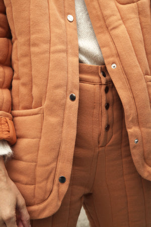 Sawyer Quilted Jacket Spice