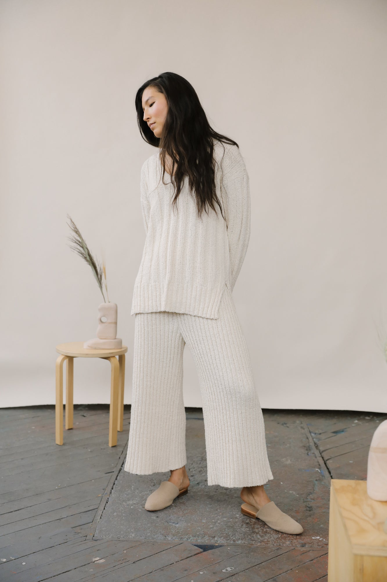 Yara Sweater Cream grid image