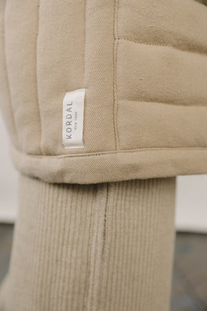 Sawyer Quilted Jacket Sand