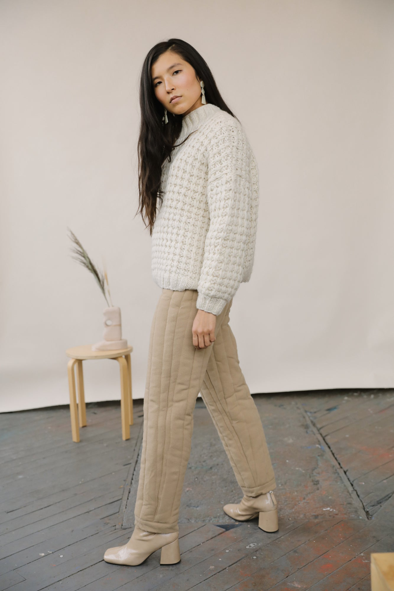 Arlo Sweater Cream grid image