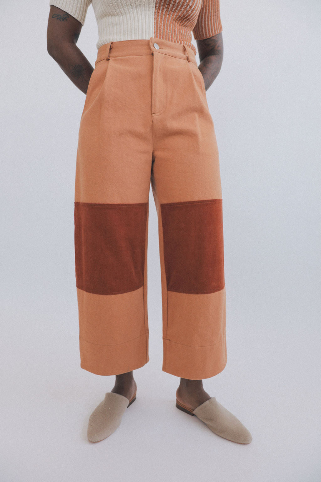 Quincy Work Pants Spice grid image