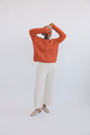 Kei Sweater Clementine