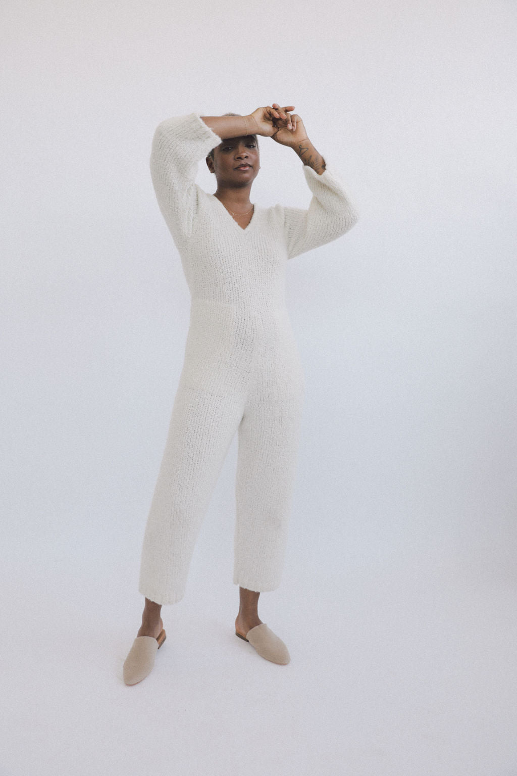 Emmy Jumpsuit Cream grid image