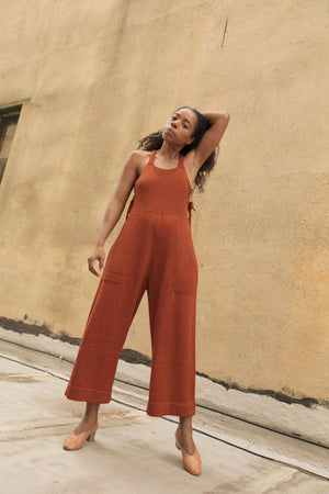 VERNA JUMPSUIT RUST