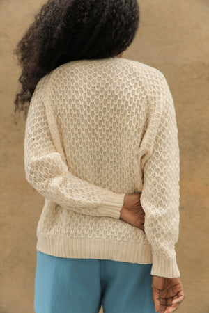 FRANCIS CARDIGAN CREAM