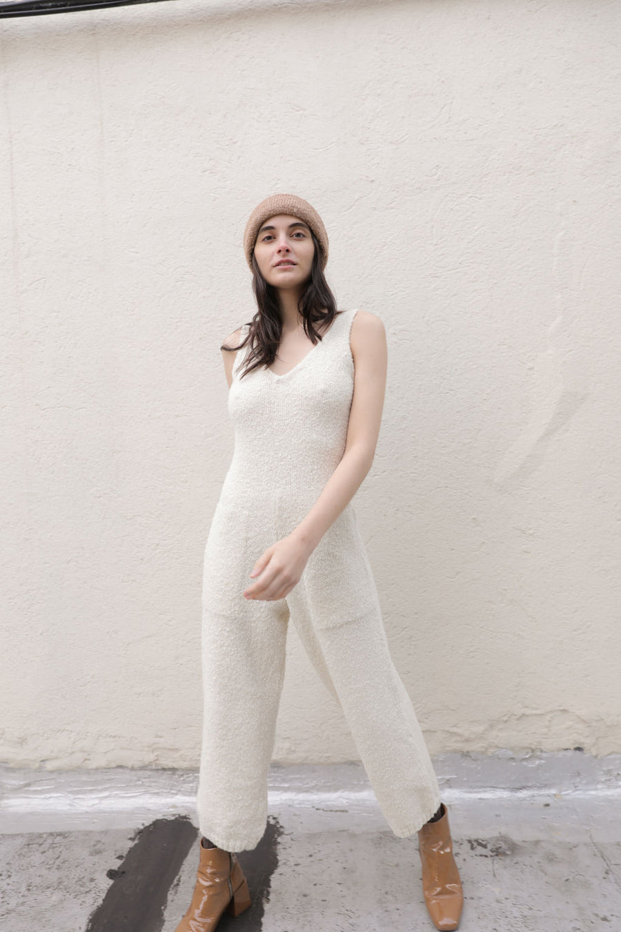 RAWAN JUMPSUIT CREAM