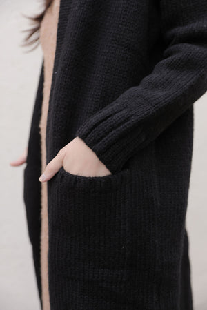 EVA CARDIGAN BLACK