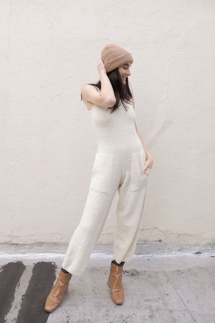 RAWAN JUMPSUIT CREAM grid image