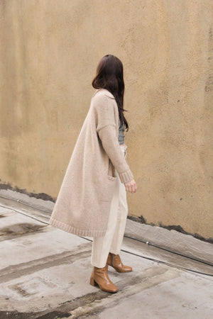 EVA CARDIGAN WHEAT