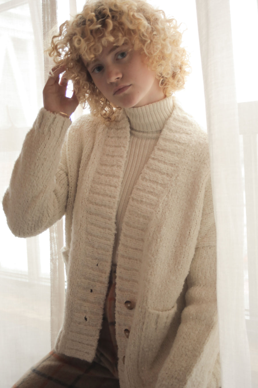 HARRIET CARDIGAN CREAM