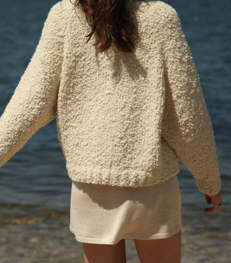 Textured Sweater Cream grid image