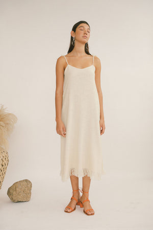 Aphrodite Dress Ecru