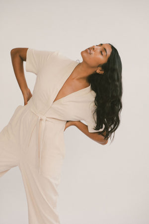 Nouri Jumpsuit Blush