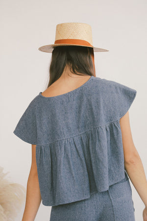 Viento Blouse Chambray