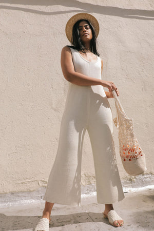 PILAR JUMPSUIT CREAM