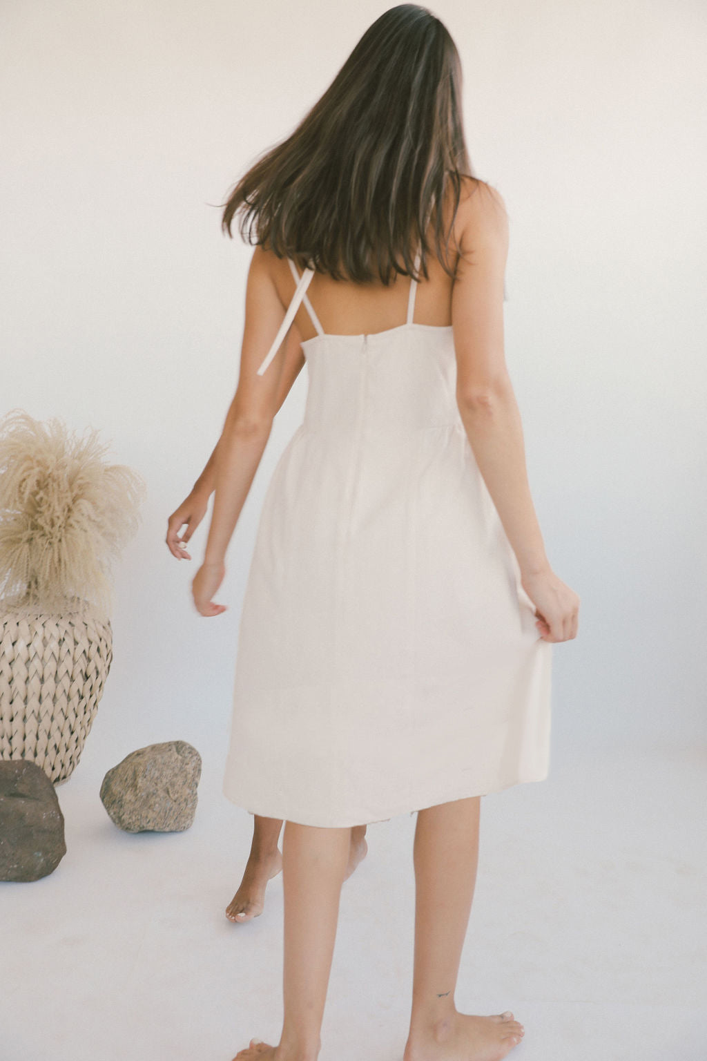 Athena Dress Blush grid image