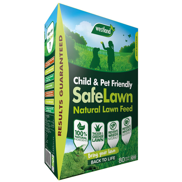 Safe Lawn Natural Lawn Feed 80m² 2.8kg