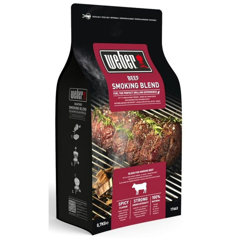 Smoking Blend Wood Chips Beef 700g
