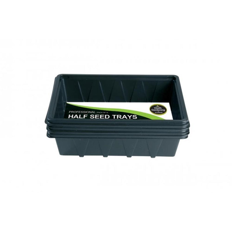 Seed Tray Professional Half (5pk)